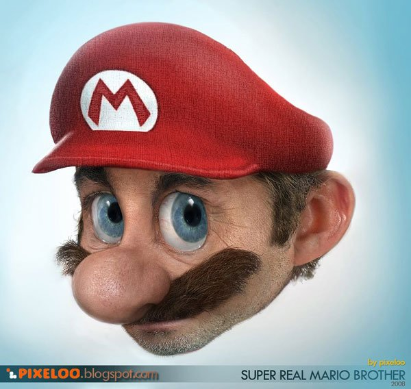 Super Real Mario