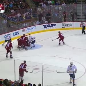 Mike Smith Save on Nicolas Deslauriers (13:59/1st)