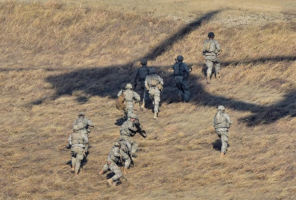 US and South Korea troops stage massive live-fire drill