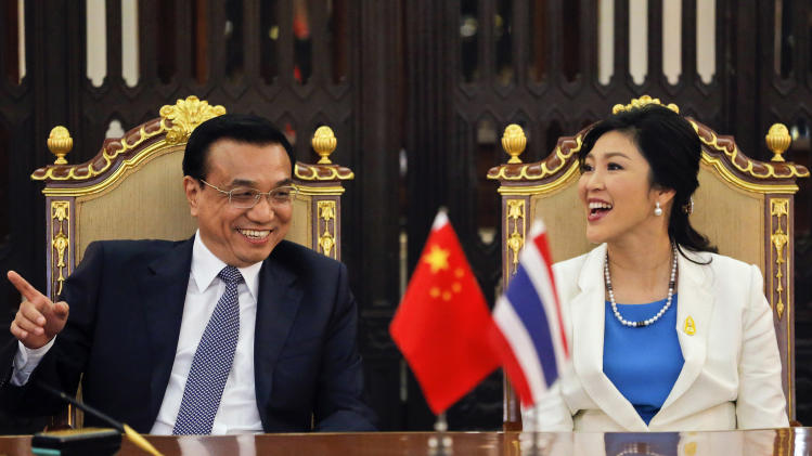China Premier Li Keqiang addresses Thai Parliament