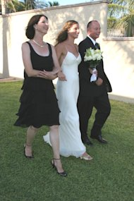 Me, Mom and Dad on my wedding KSP