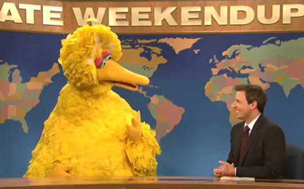 Big Bird Sleepily Responds to Mitt Romney