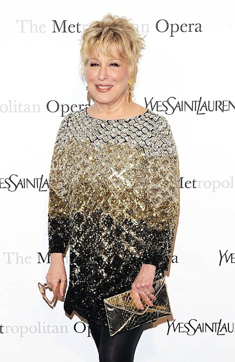 Bette Midler Armida Premiere