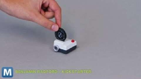 Tiny Projector Puts Your Instagram Images on the Big Screen