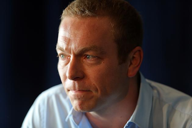 Sir Chris Hoy Press Conference