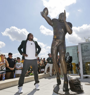 RG3 bolstered his legend at Baylor, but is still looking for long-term success in the NFL. (AP)