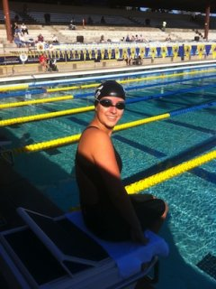 Exeter senior and paralympic world record holder Victoria Arlen — New England Swimming