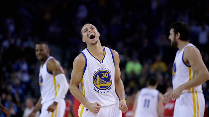 Curry gets angry, Warriors beat Rockets 126-113