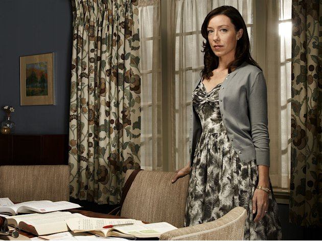 "Molly Parker stars as Abby McDeere in ""The Firm."""