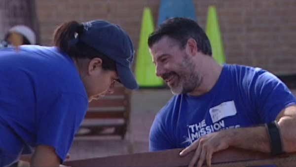 Local veterans clean up elementary school