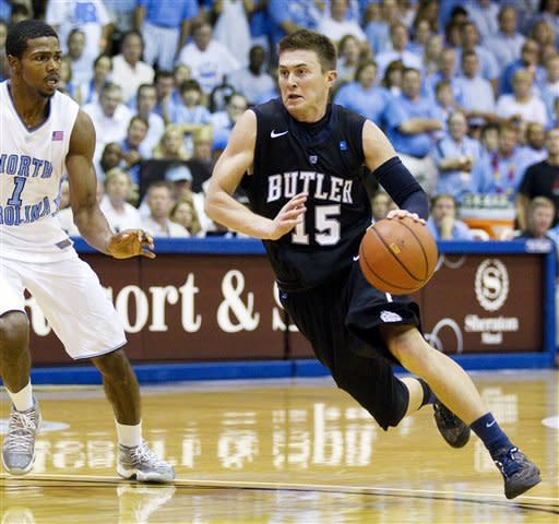 Butler holds off ninth-ranked UNC 82-71 in Maui