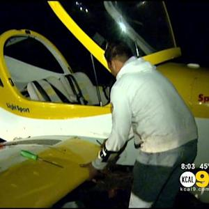 Small Plane Makes Successful Roadway Landing In Mission Viejo