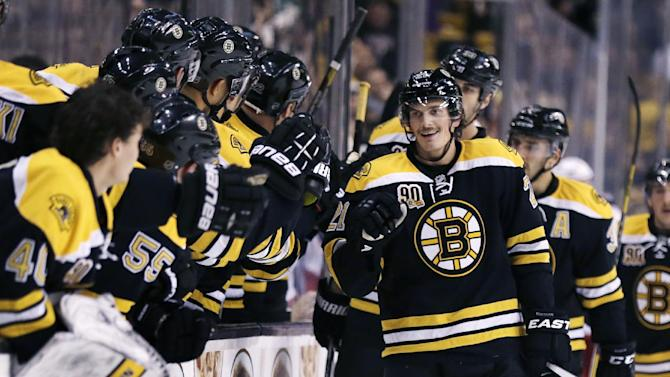 Lucic lifts Bruins to 3-2 OT win over Blue Jackets