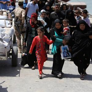 ISIS Attacks Send Iraqi Refugees Fleeing to Baghdad