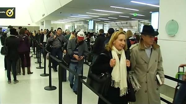 Several flights canceled at SFO due to weather
