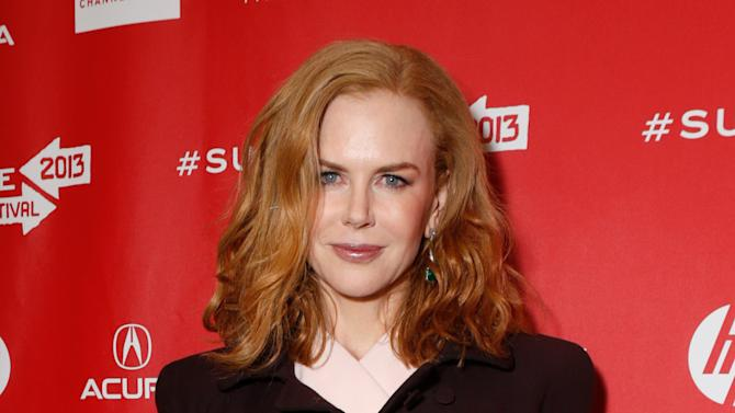 "Actress Nicole Kidman attends Fox Searchlight's ""The Stoker"" premiere during Sundance Film Festival on Sunday, Jan. 20, 2012 in Park City, Utah. (Photo by Todd Williamson /Invision for Fox Searchlight/AP Images)"