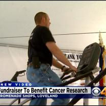 Firefighters Climb Stairs To Raise Money For Cancer Research