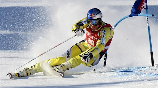 Aksel Lund Svindal - World Cup 2012-2013 (AFP)