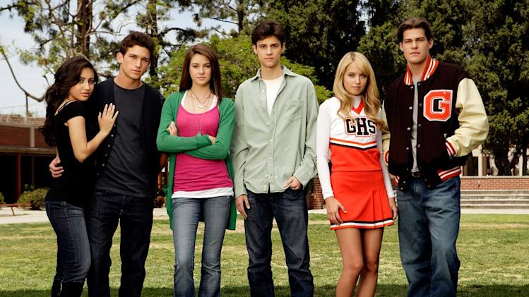 "The cast of ""The Secret Life Of The American Teenager""."