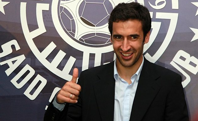 Spanish Striker Raul Gives AFP/Getty Images