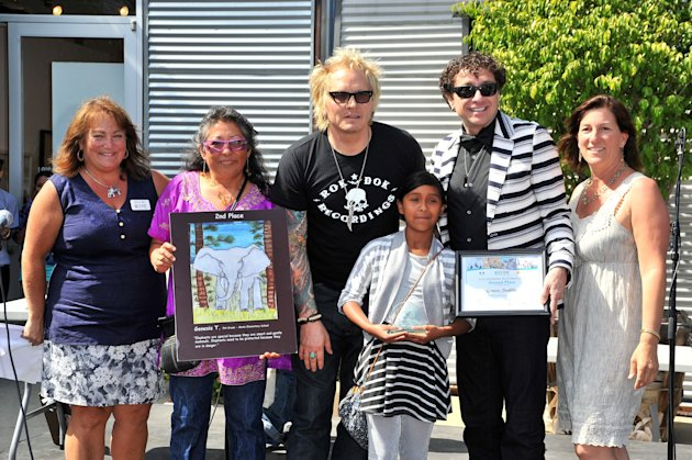 IFAW, Adopt The Arts And The Los Angeles Unified School District's Love Elephants Youth Art Exhibit And Awards Event