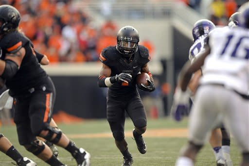 Lunt returns to lead Oklahoma State over TCU 36-14