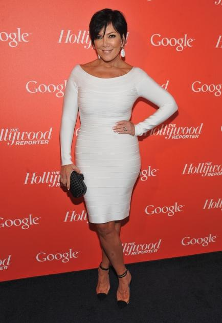 Kris Jenner arrives at Google & Hollywood Reporter Host an Evening Celebrating The White House Correspondents' Weekend in Washington, DC on April 27, 2012 -- Getty Images