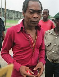 Fela Kuti pictured in Lagos in 1993. He is far from forgotten, both in Nigeria and in many places abroad, and his family has been working to further preserve Kuti&#39;s legacy, including efforts to turn his last house into a museum -- the reason his bedroom was left as is