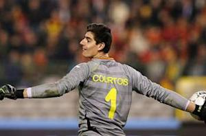 Courtois ready to 'suffer' for Liga title