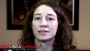 """UFC 170′s Sara McMann: """"When the Pressure Comes On, I Show Up"""""""