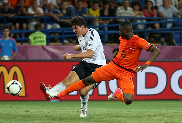 Mario Gomez Of Germany Scores …