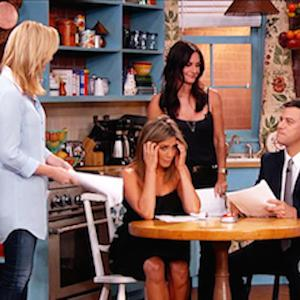 'Friends' Reunion on Replica Set
