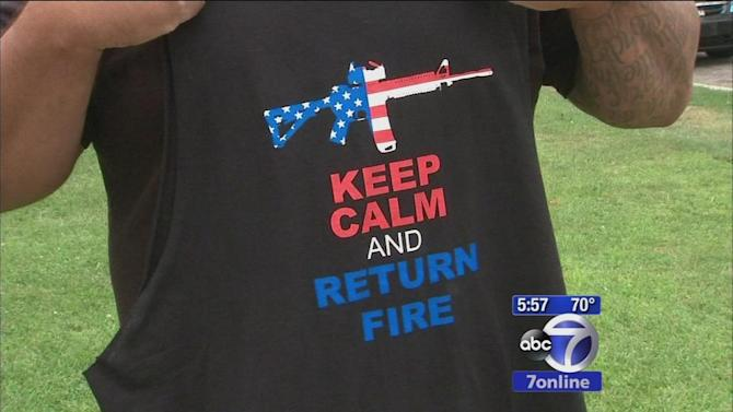 Six Flags Great Adventure apologizes for gun shirt error