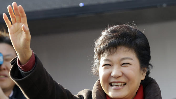 South Korea's Park tries to make history