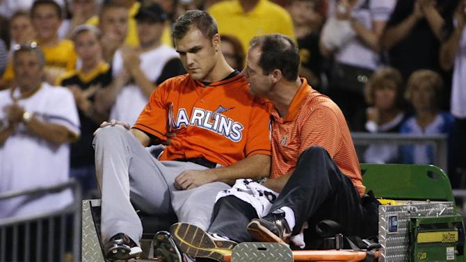 Marlins' Jennings released from hospital