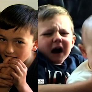 'Charlie Bit My Finger' Brothers Then and Now