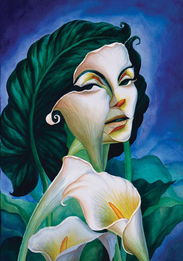 'A Woman of Substance' by Octavio Ocampo