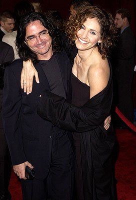 Brad Silberling and Amy Brenneman 53rd Annual Emmy Awards - 11/4/2001
