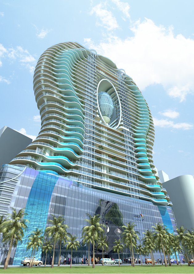 Stunning Ohm-shaped building to come up in India