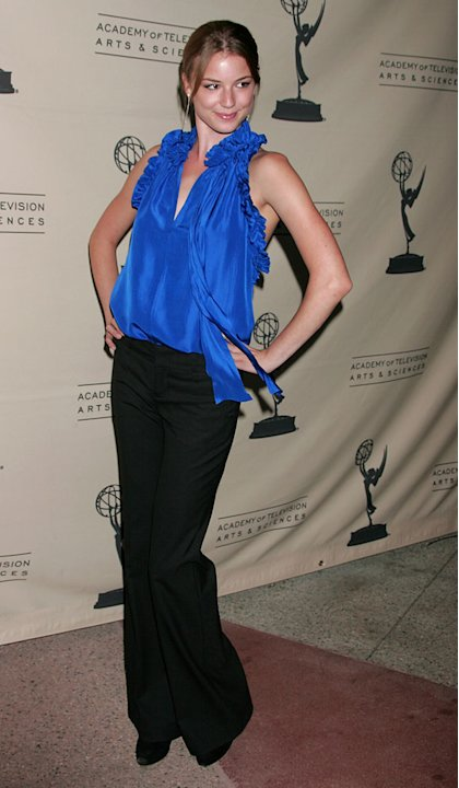 Emily VanCamp attends A Conversation With 'Brothers & Sisters' at the Academy of Television Arts & Sciences on April 28, 2008 in North Hollywood, California.