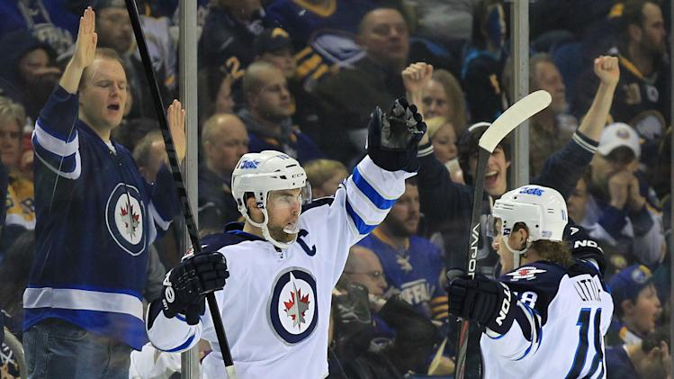 NHL: Winnipeg Jets at Buffalo Sabres