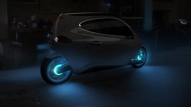 Lit C-1 two wheeler car