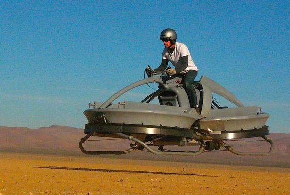 New Hover Vehicle Recalls &amp;#39;Star Wars&amp;#39; Bike