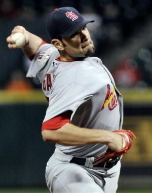 Cardinals win 4th straight, 4-0 over Astros