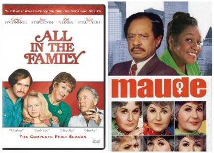 All in the Family Spin-Offs - Maude and The Jeffersons