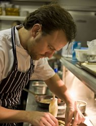 Chef Brett Graham's The Ledbury restaurant was named the reader's choice among readers of Zagat last year