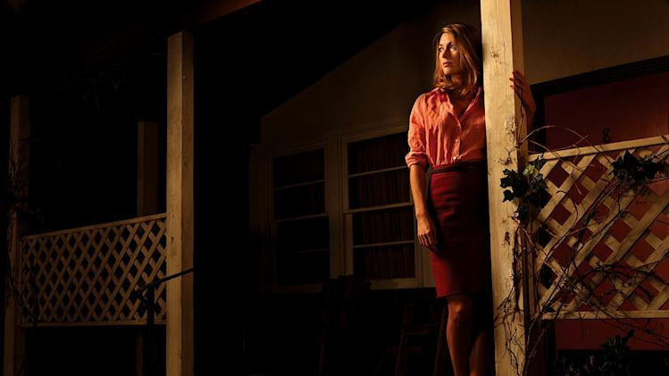 "Natalie Zea as Winona Hawkins in ""Justified."""