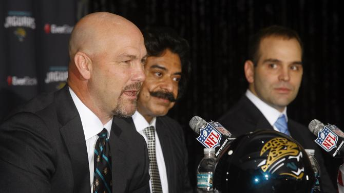 NFL: Jacksonville Jaguars-Gus Bradley Press Conference