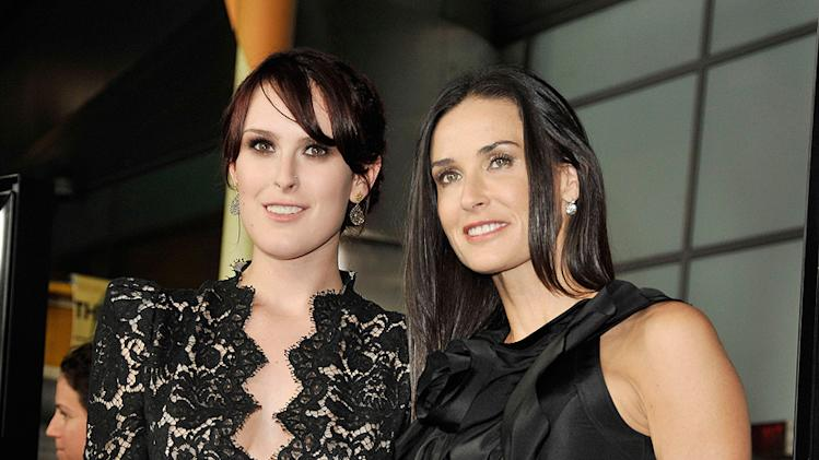 Sorority Row LA Premiere 2009 Rumer Willis Demi Moore