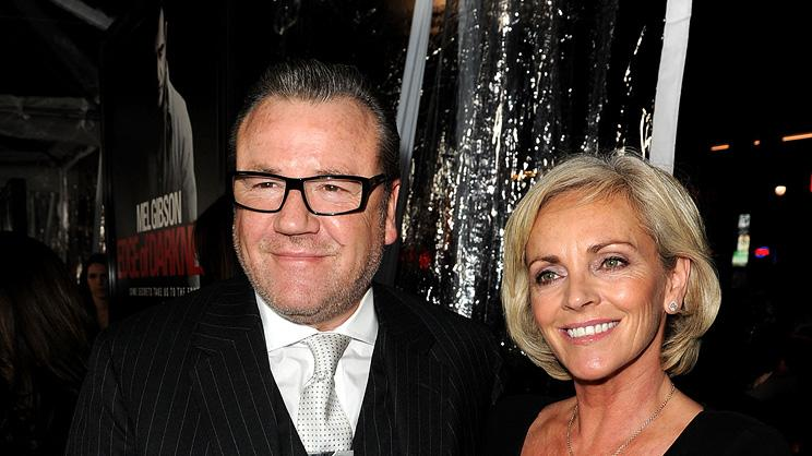 Edge of Darkness LA premiere 2010 Ray Winstone